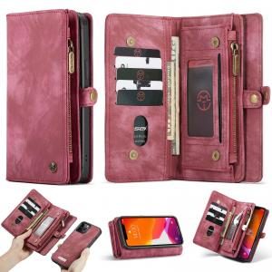 Plånboksfodral med magnetskal för iPhone 12/12 Pro - CaseMe