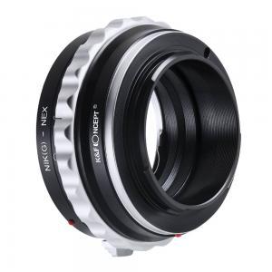 K&F Objektivadapter till Nikon G objektiv för Sony E kamerahus