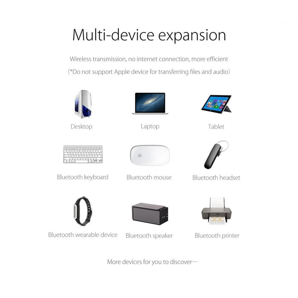Orico Bluetooth 4.0 USB adapter 3 Mbps