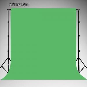PULUZ Grön vinylbakgrund (2.6x1.5m)
