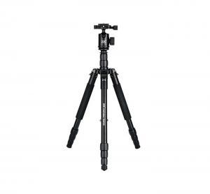 JJC TP-J1 serien - Portabelt kamerastativ 145cm