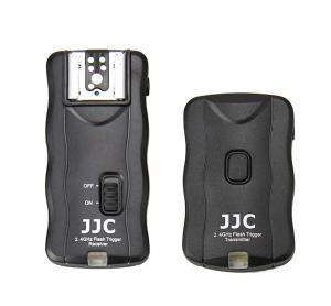 JJC 2.4 GHz [3 i 1]: Blixtutlösare, trådutlösare & fjärrutlösare JF-G1