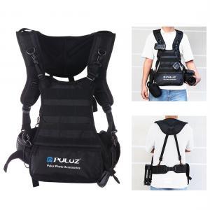 Puluz Multifunktionellt Selesystem med kamerabälte för fotoutrustning