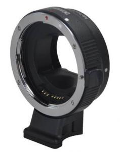 Commlite Objektivadapter elektronisk EF till Objektiv för Sony NEX Kamerahus