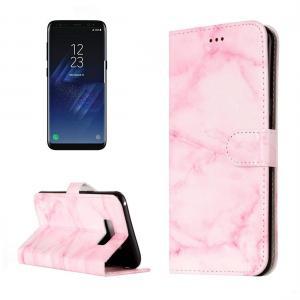 Plånboksfodral för Samsung Galaxy S8 - Rosa marmor