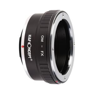 K&F Objektivadapter till Olympus OM Zuiko objektiv för Fujifilm X kamerahus