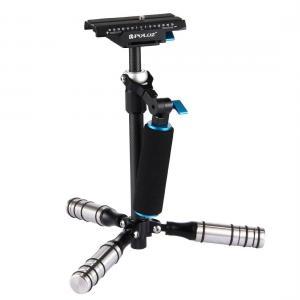 Puluz Handhållen kolfiber stabilisator för DSLR/DV-kameror (27-37cm)