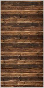 Vinylbakgrund 1.5x3.0m - Trägolv/vägg (Brun)