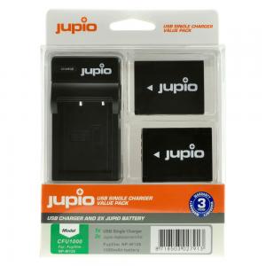 Jupio Batteripaket ersätter Fujifilm NP-W126