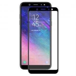 Enkay Heltäckande 3D Displayskydd 9H för Samsung Galaxy A6 Plus- Svart ram