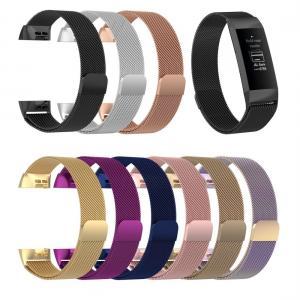 Armband för Fitbit Charge 3 - Kedja Magnetisk