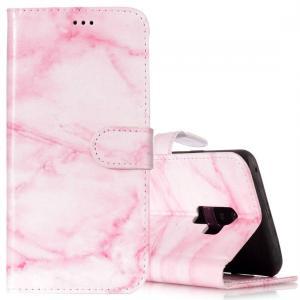 Plånboksfodral för Galaxy S9 Plus Rosa med kortplatser och fack