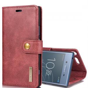 DG.MING för Sony Xperia XZ1 - Plånboksfodral med magnetskal