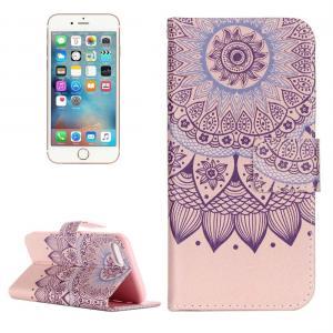 Plånboksfodral för iPhone 7/8 - Mandalablomma