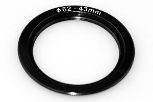 Step Down Ring 52-46mm