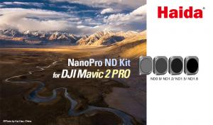 Haida ND-Filter (4i1) kit för Mavic 2 Pro: ND8, ND16, ND32, ND64