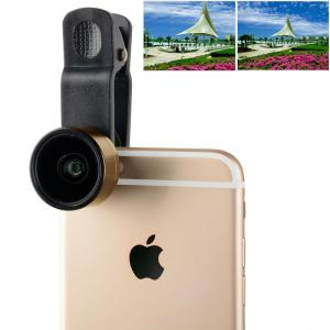 ZOMEI Universal 0.36X Vidvinkelobjektiv för smartphone