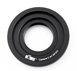 Kiwifotos Objektivadapter till C-Fäste för Nikon 1 kamerahus