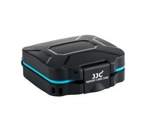 JJC MCR-ST8 Minneskortsfodral - För 4 st SD-kort + 4st TF-kort (Vattentät)