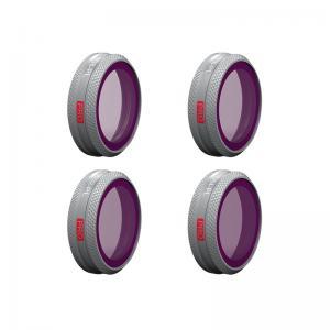 PGYTECH NDPL-PRO Filter (4 i 1) kit för MAVIC 2 ZOOM: NDPL8 NDPL16 NDPL32 NDPL64