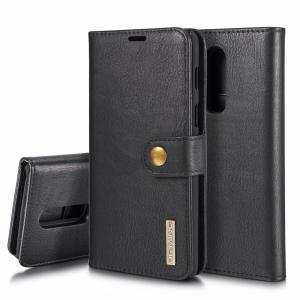 DG.MING för OnePlus 6 - Plånboksfodral med magnetskal