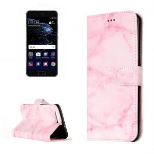 Plånboksfodral för Huawei P10 - Rosa marmor