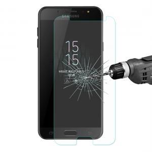 Enkay Displayskydd för Samsung Galaxy C7 (2017)/J7+ (2018)- Av härdat glas 9H