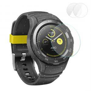 Enkay 2.15D Displayskydd för Huawei Watch 2 - Av härdat glas 9H
