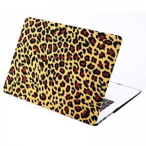 Skal för Macbook Air 11.6-tum - (A1370/A1465) - Leopardmönster - (Brun)