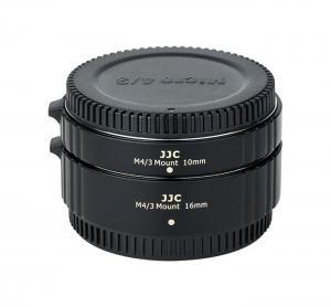 JJC Mellanringar 10mm 16mm elektronisk för Micro 4/3 AET-M43S(II)