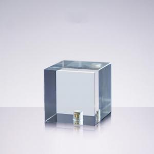 Kristallkub med 1/4-tums gänga för kreativ fotografering