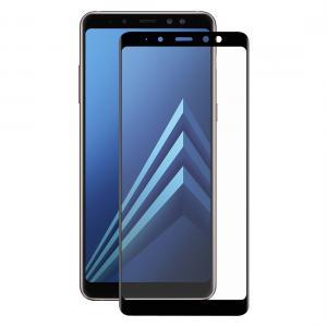 Enkay Heltäckande 3D Displayskydd 9H för Samsung Galaxy A8 Plus- Svart ram