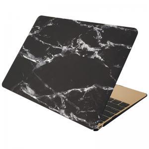 Skal för för Macbook 12-tum - Marmor svart & vit