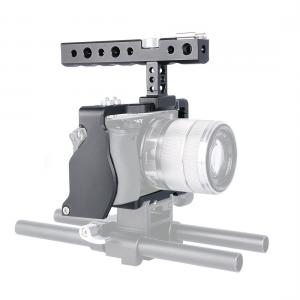 Yelangu C6 Videokamerabur Cage för Sony A6000 A6300 A6400 A6500