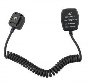 JJC FC-E3 TTL Blixtkabel motsvarar Canon OC-E3