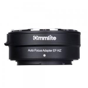 Commlite Objektivadapter elektr till Canon EF/EF-S Objektiv för Nikon Z K-hus