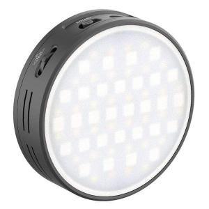Ulanzi RGB Videolampa mini för kamera/mobil med inbyggt batteri & diffuser