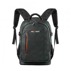 K&F Concept Kameraryggsäck med stor kameraförvaring IPX4
