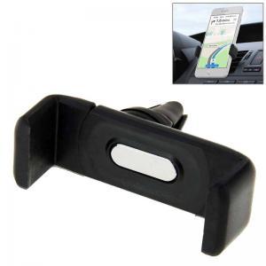 Mobilhållare som fästes i bilens ventilationsgaller - Svart