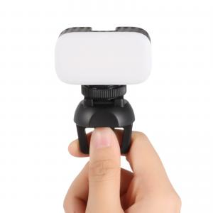 Belysning för Vlogg med klämma för laptop, surfplattan eller mobilen