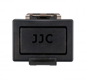 JJC Batteri & minneskortsfodral för 1x batteri + 1x SD + 2x MSD