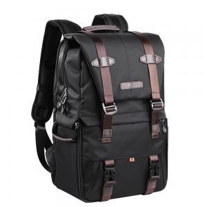 K&F Concept Kameraryggsäck svart med uttagbar innerskydd/insats