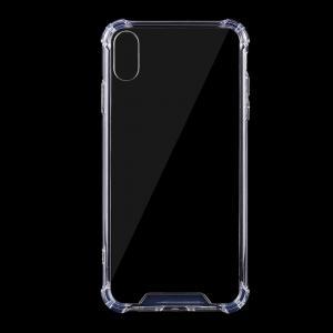 Mjukskal transparent för iPhone X/XS