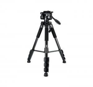 JJC TP-P1 - 147cm Kamerastativ med trevägshuvud