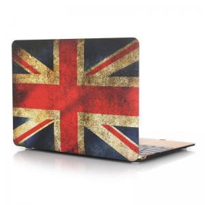 Skal för Macbook 12-tum - Storbritanniens flagga