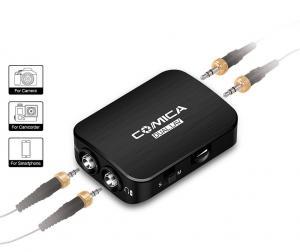 CoMica Lavalier Mikrofon [För kamera, SmartPhone, GoPro] Multi-funktionell