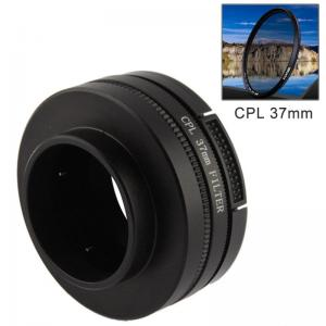 37mm CPL-filter & adapter till för GoPro (37mm)