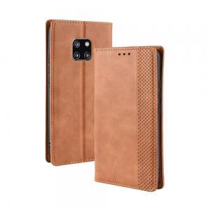 Plånboksfodral för Huawei Mate 20 Pro - Brunt mönster