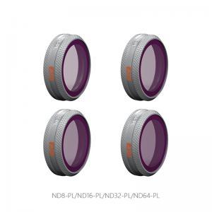 PGYTECH NDPL-Filter (4 i 1) kit för MAVIC 2 ZOOM: NDPL8, NDPL16, NDPL32, NDPL64