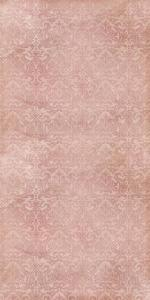 Vinylbakgrund 1.5x3m - Rosa damaskmönster